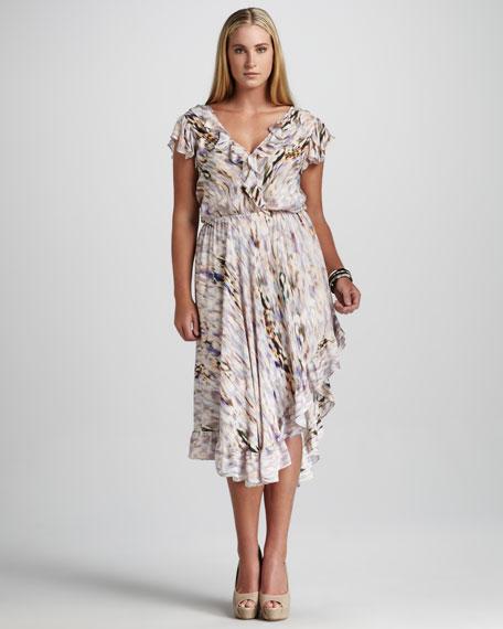JilRo Parker Ruffle Dress, Women's
