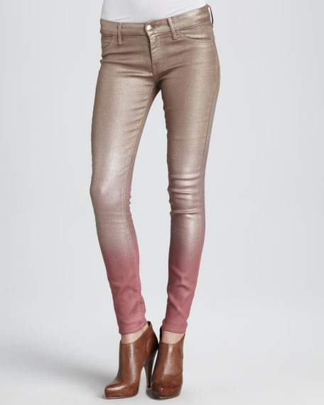 Ombre Skinny Jeans