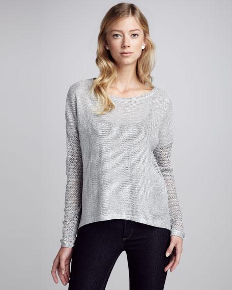 Juliet Knit Mesh Top