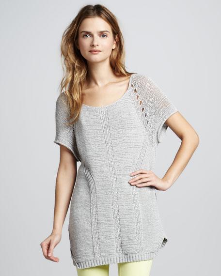 YoYo Knit Sweater, Chrome