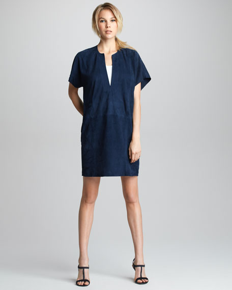 Suede Tunic Dress