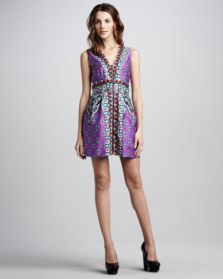 Funkadelic Mix-Print Dress