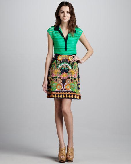 Jane Printed Skirt