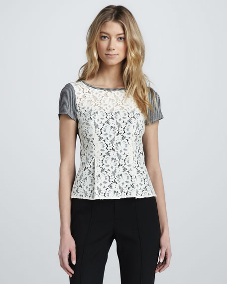 Grand Entry Lace Combo Top