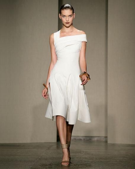 Stretch Canvas Dress