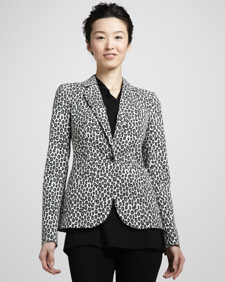 Charlie II Leopard-Print Jacket