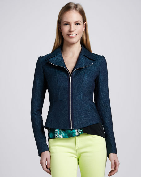 Althea Zip-Front Jacket