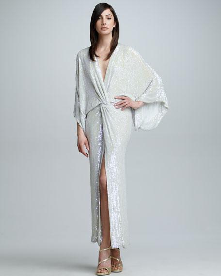 Jessi Allover Sequined Maxi Dress