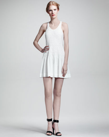Ivette Smocked Cotton Dress