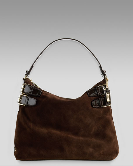 Avery Large Hobo, Dark Chocolate