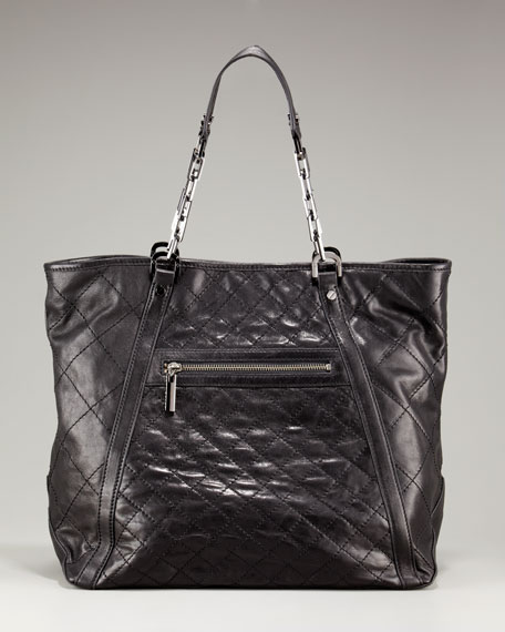 Alice Quilted Leather Tote