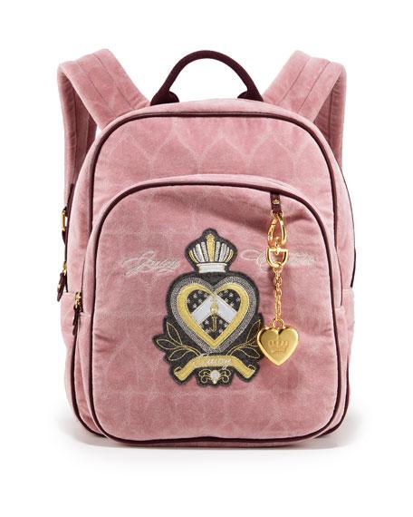 Heart Jacquard Backpack