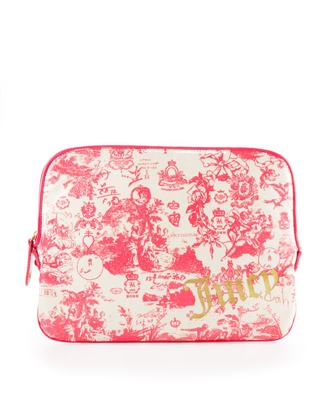 Toile-Print Laptop Sleeve, 15""