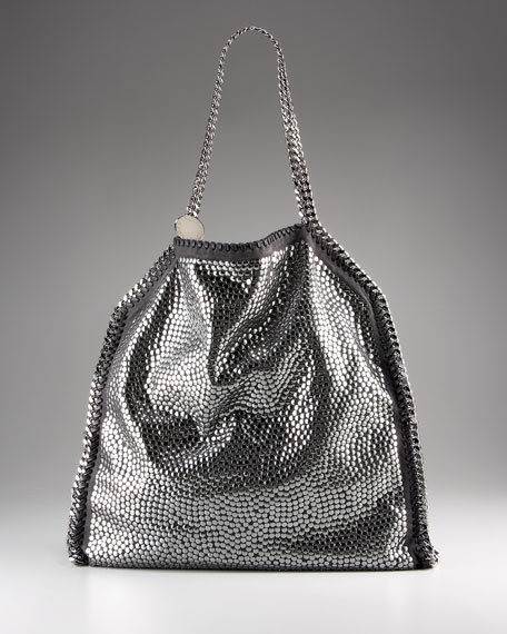 Falabella Studded Eco Suede Shopper