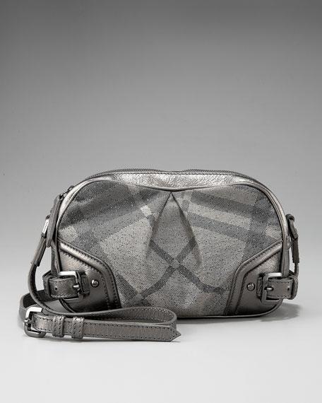 Shimmer Check Degrade Crossbody Bag