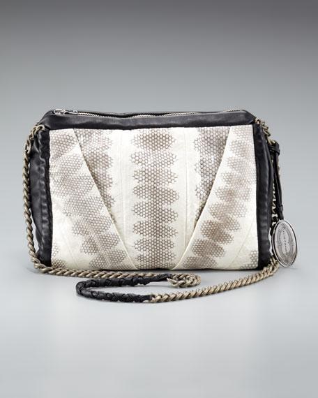 Lanie Snakeskin Bag