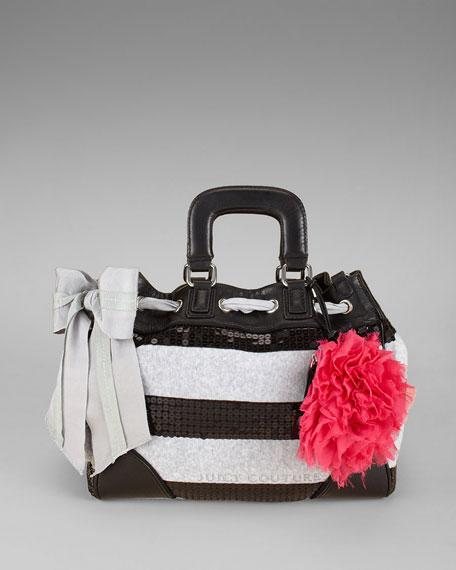 Sequined Stripe Day Dreamer Bag
