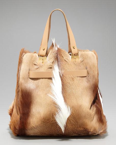 Sybil Springbock Fur Tote
