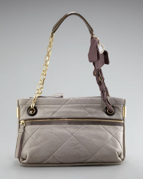 Amalia Quilted Shoulder Bag