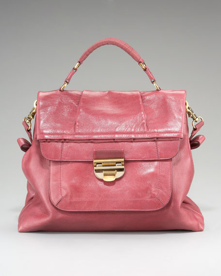 Liane Fold-over Satchel