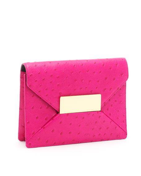 Quinn Clutch, Neon Pink