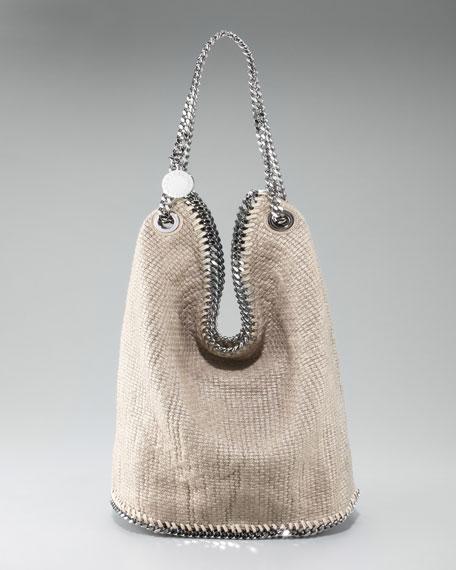 Cotton Tricot Bucket Bag