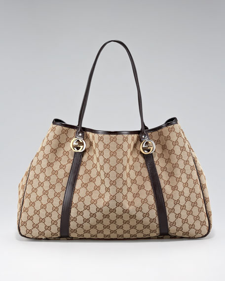 GG Twins Large Tote