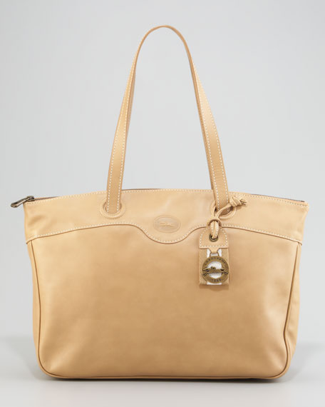 Au Sultan Leather Tote
