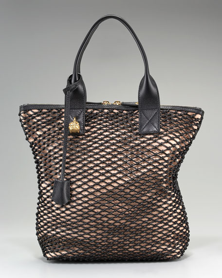 North-South Mesh Tote