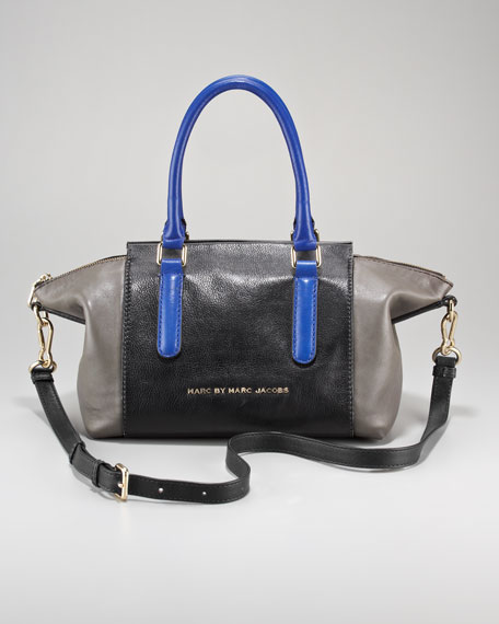 Burg Boxer Colorblock Satchel Bag