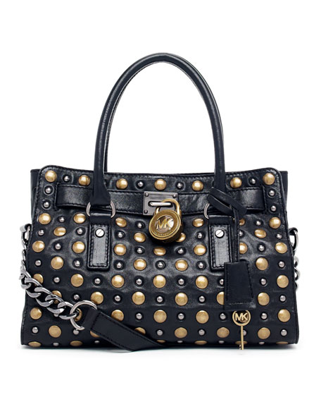 Hamilton Studded Satchel Bag
