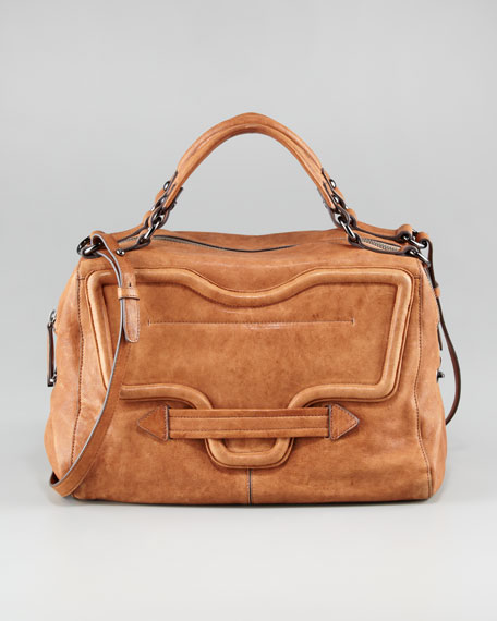 Grove Leather Satchel Bag