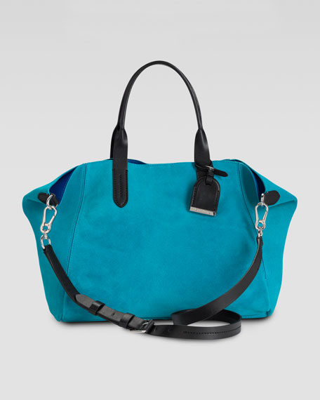Crosby Suede Shopper