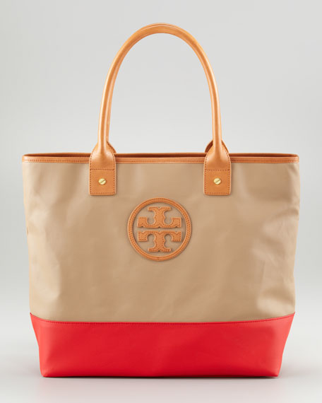 Jaden Colorblock Tote Bag