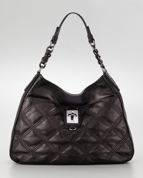 Sabrina Quilted Bucket Bag