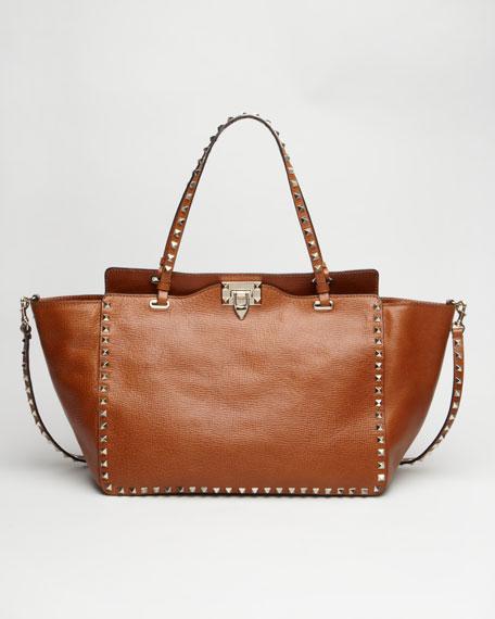 Rockstud Tote Bag, Medium