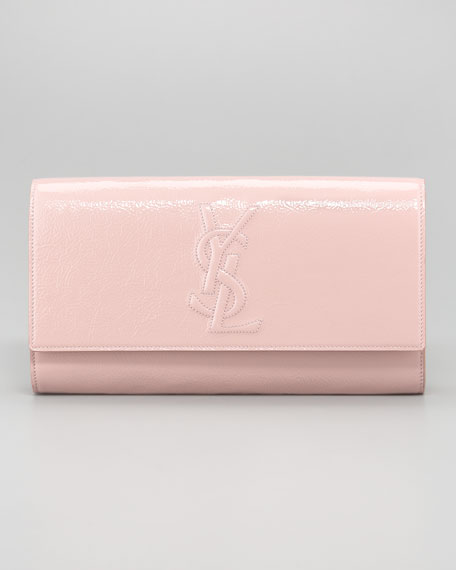 Yves Saint Laurent Belle De Jour Patent Clutch Bag