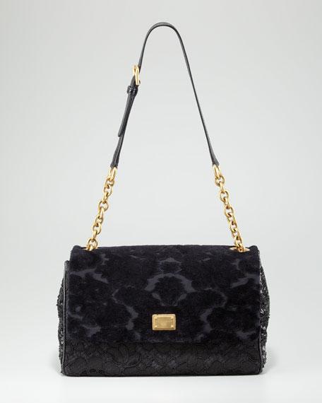 Miss Kate Mix Media Shoulder Bag