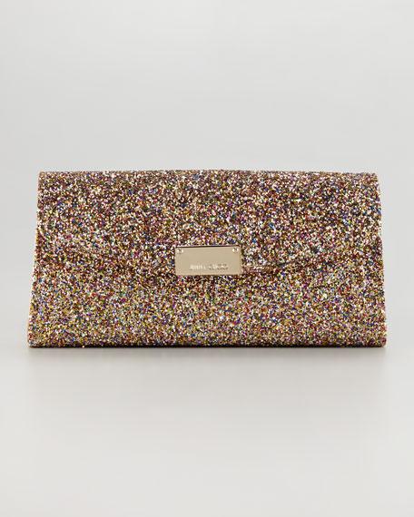Riane Glitter Clutch Bag, Multicolor