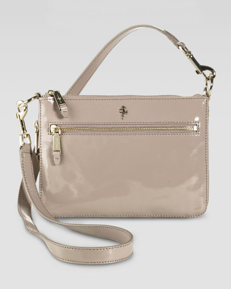 Jitney Convertible Crossbody Bag, Brown