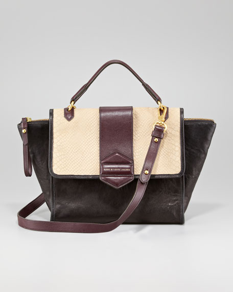 Flipping Out Colorblock Bag