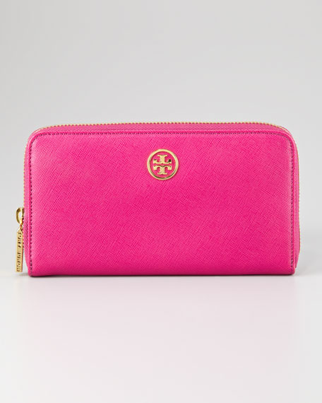 Robinson Zip-Around Continental Wallet