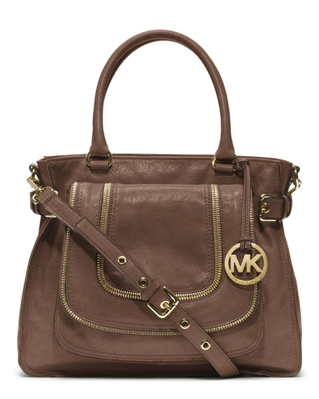 4bb7223c9 czech michael korsnaomi large mixed leather shoulder bag d8922 8baf7;  canada michael michael kors large naomi satchel. large naomi satchel 15438  d04b6