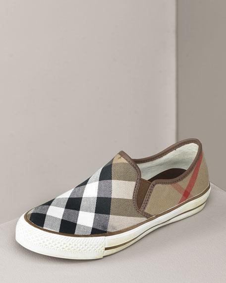 Check Slip-On Sneaker