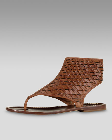 Cole Haan Eve Woven Gladiator Sandal