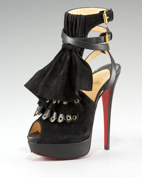 Misfit Ruffle Sandal