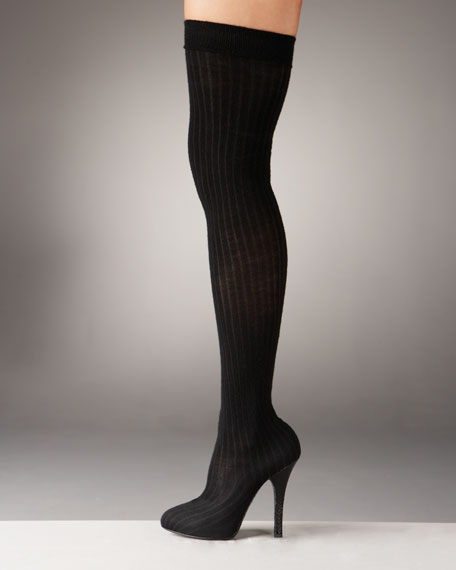 Dolce & Gabbana Leg-Warmer Over-Knee Pump