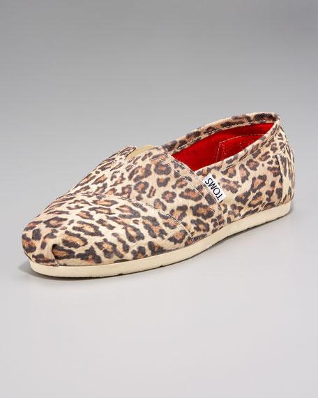 Leopard-Print Slip On