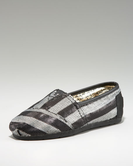 Gurley Stripe Sequin Slip On