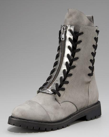 Trooper Metallic-Trim Boot
